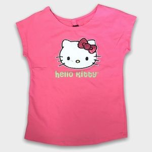2/$15🥳 Pink Short Sleeve Hello Kitty Shirt